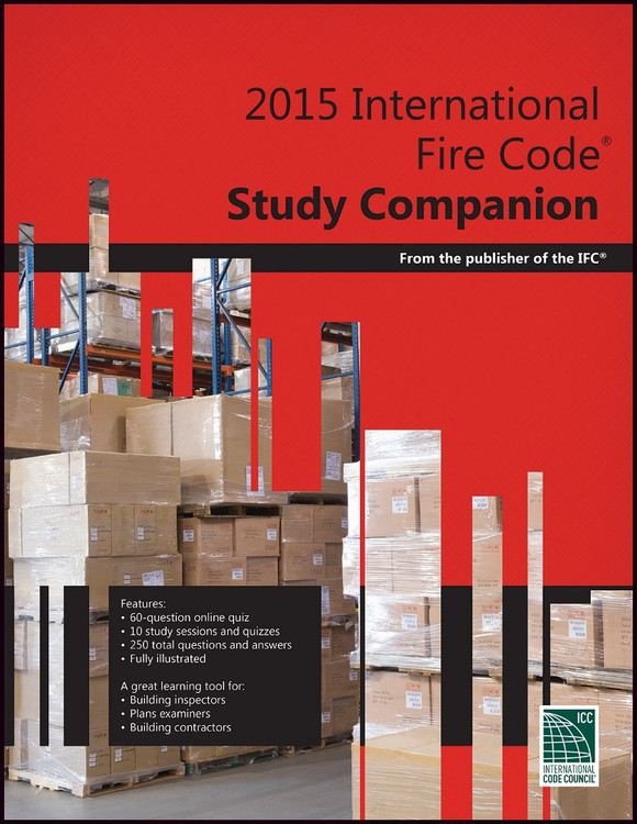 2015 International Fire Code Study Companion - ISBN#9781609835460