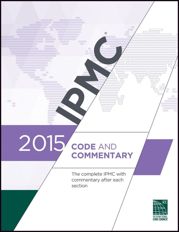 2015 IPMC Code and Commentary - ISBN#9781609832889