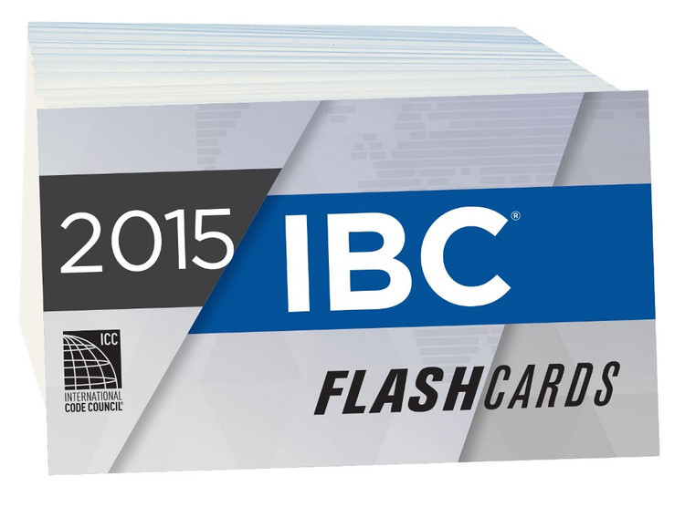 2015 IBC Flash Cards - ISBN#9781609835507