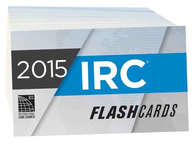 2015 IRC Flash Cards - ISBN#9781609835514