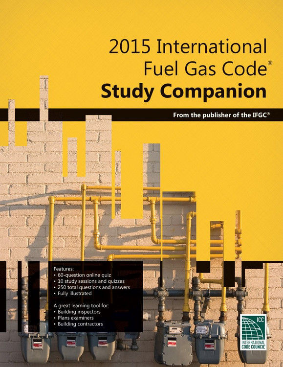 2015 International Fuel Gas Code Study Companion - ISBN#9781609835453
