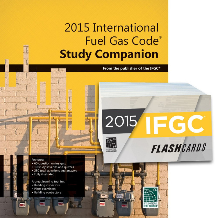 2015 International Fuel Gas Code Study Companion and Flash Card Set
