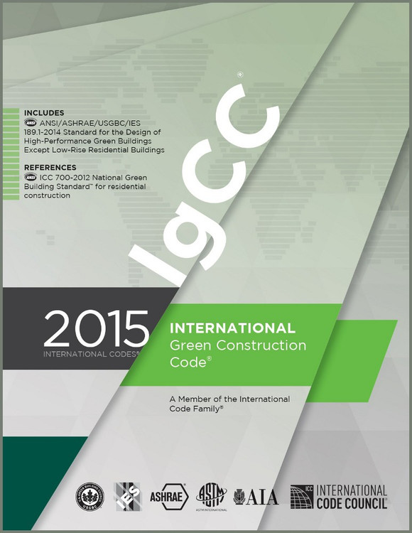 2015 International Green Construction Code - ISBN#9781609834883