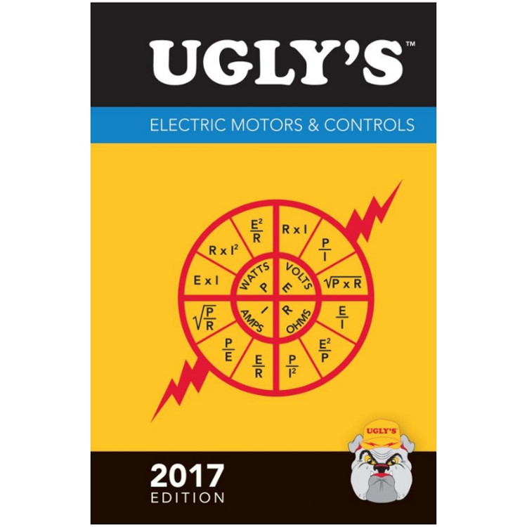 Ugly's Electric Motors and Controls 2017 - ISBN#9781284119428