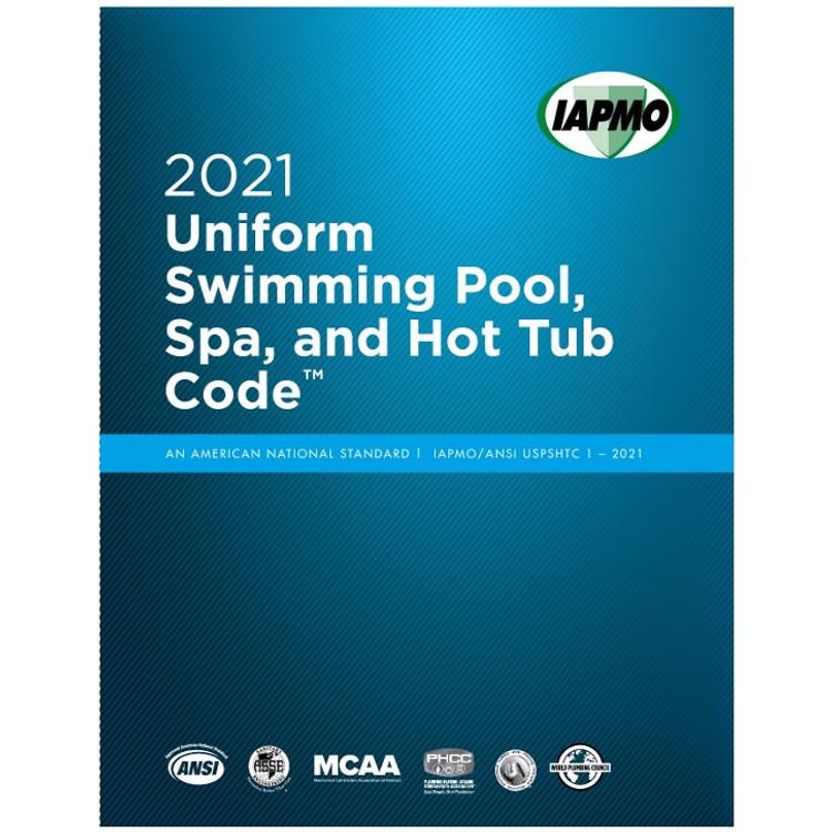 2021 Uniform Swimming Pool, Spa and Hot Tub Code - ISBN#9781944366605