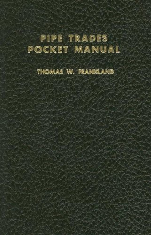 Pipe Trades Pocket Manual - ISBN#9780028024103