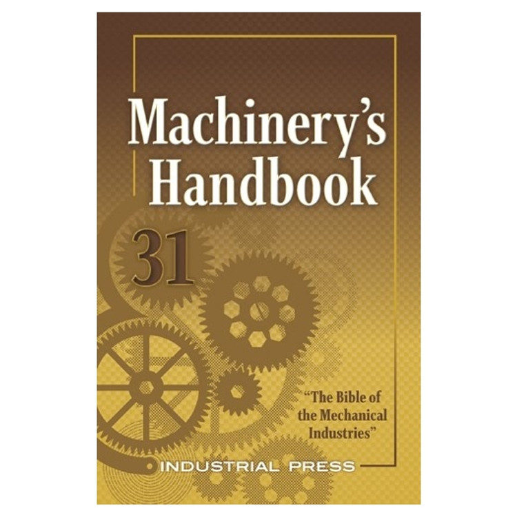 Machinerys Handbook Large Print - ISBN#9780831136314