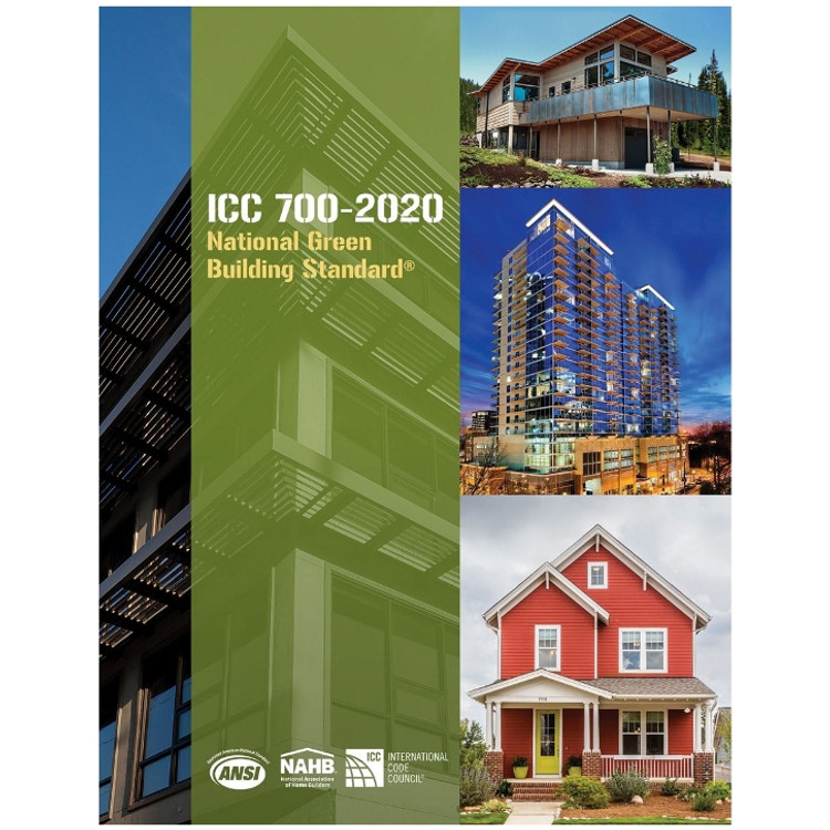 ICC 700-2020 National Green Building Standard - ISBN#9780867187793