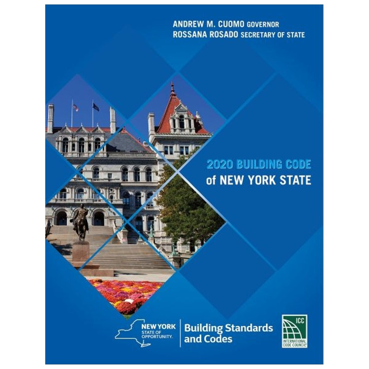 2020 Building Code of New York State - ISBN#9781609839116