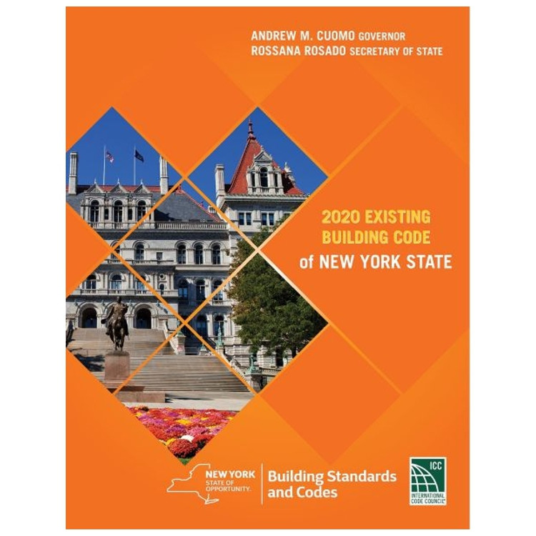 2020 Existing Building Code of New York State - ISBN#9781609839130