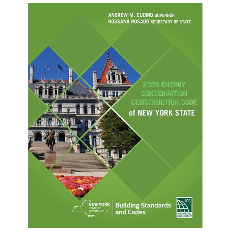 2020 Energy Conservation Construction Code of New York State - ISBN#9781609839123