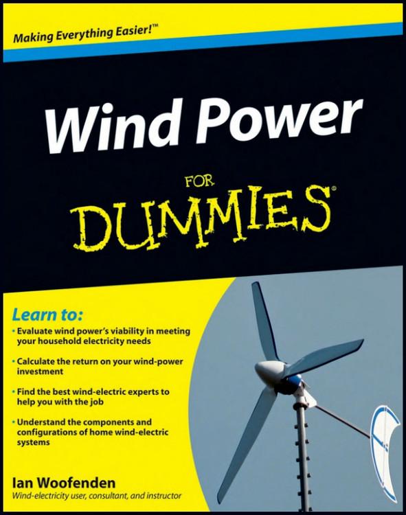 Wind Power for Dummies - ISBN#9780470496374