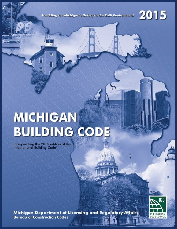 2015 Michigan Building Code - ISBN#9781609836788