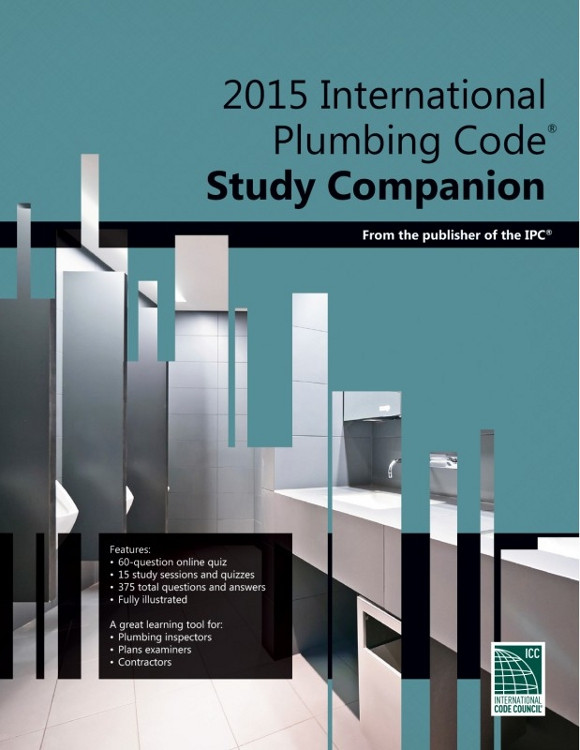 2015 International Plumbing Code Study Companion - ISBN#9781609835439