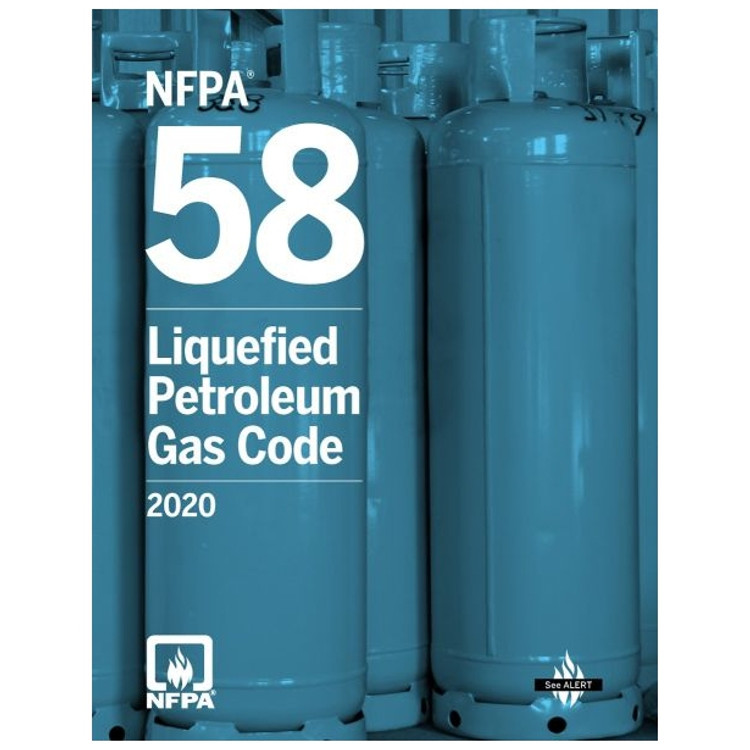 NFPA 58: Liquefied Petroleum Gas Code 2020 - ISBN#9781455923939