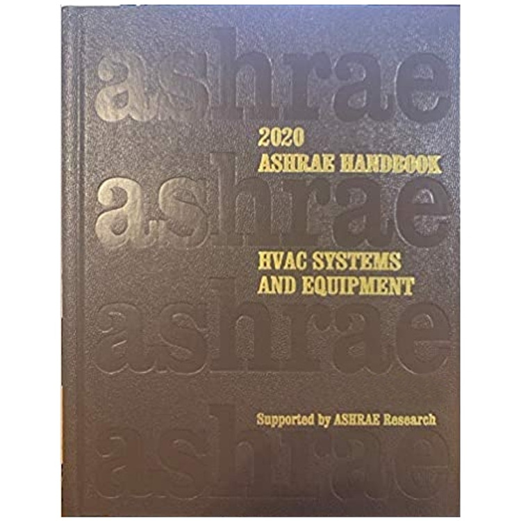 2020 ASHRAE Handbook  HVAC Systems and Equipment SI - ISBN#9781947192539