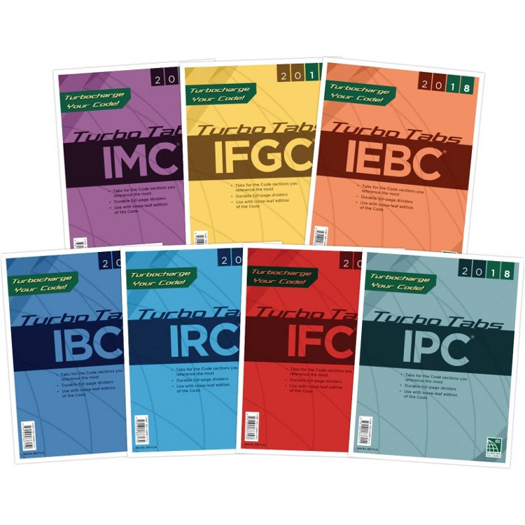 2018 International Codes Complete Collection Turbo Tabs