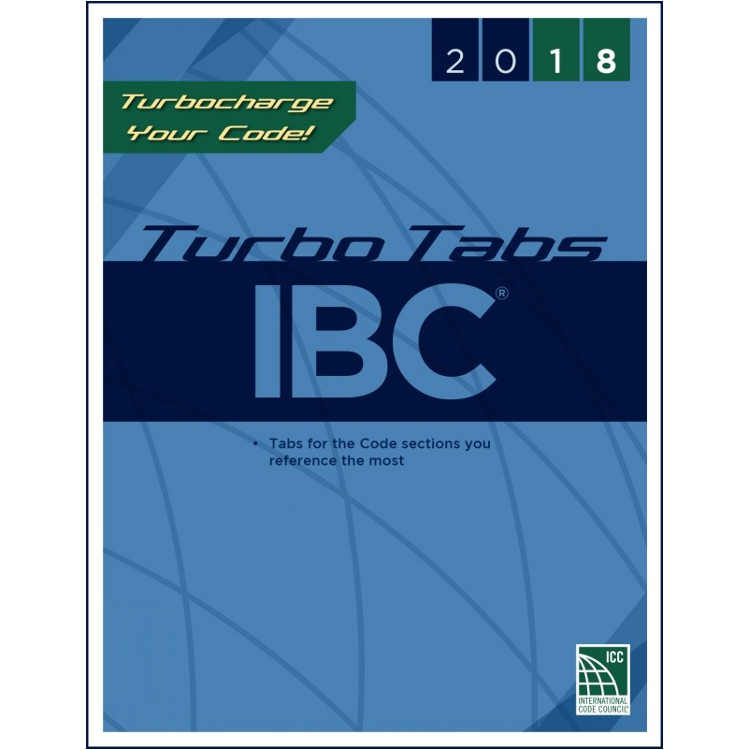 2018 IBC Turbo Tabs (Looseleaf)