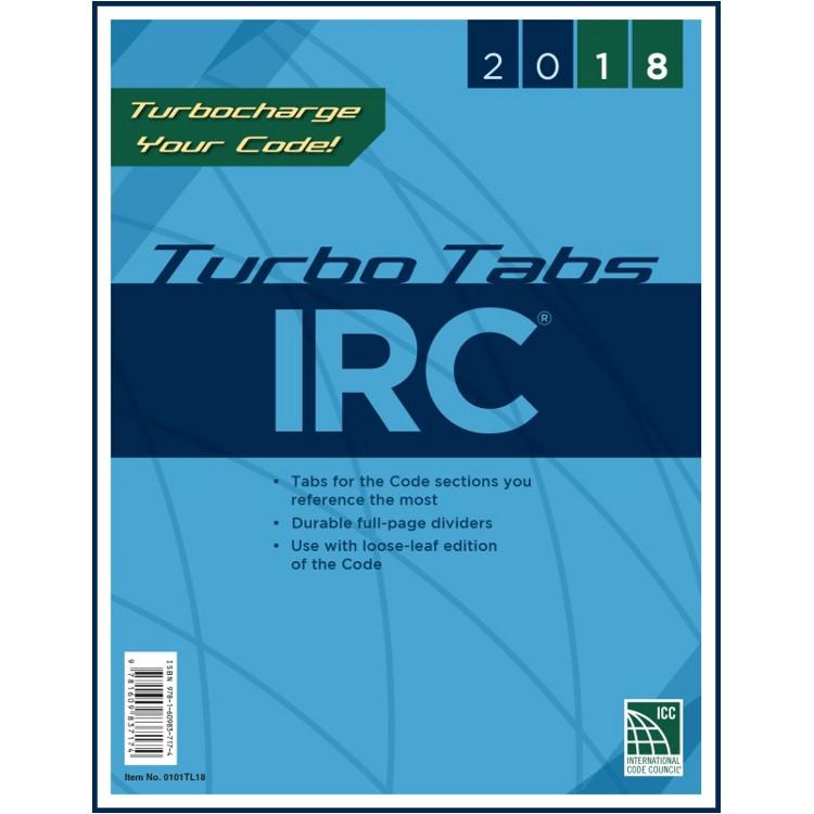 2018 IRC Turbo Tabs