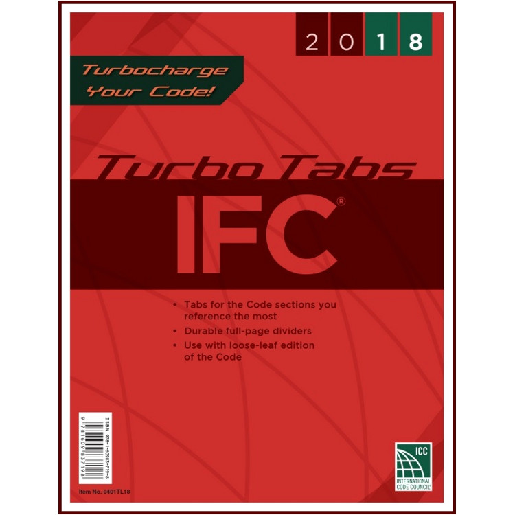 2018 IFC Turbo Tabs (Looseleaf)
