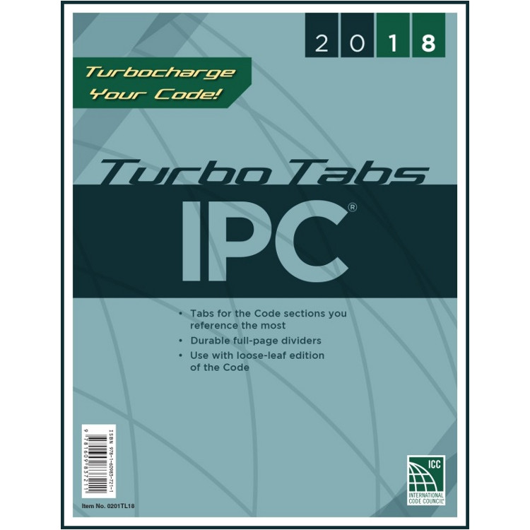 2018 IPC Turbo Tabs (Looseleaf)