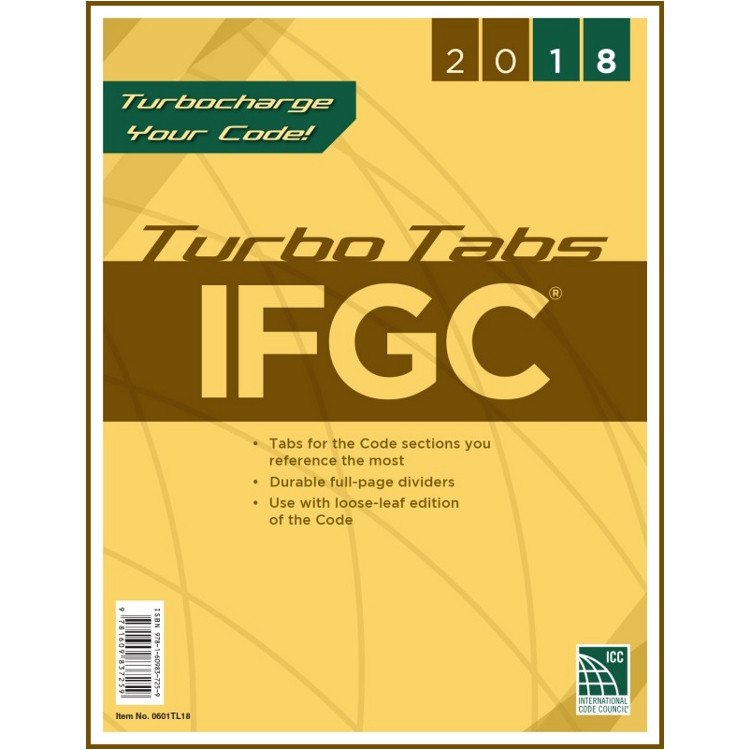 2018 IFGC Turbo Tabs (Looseleaf)