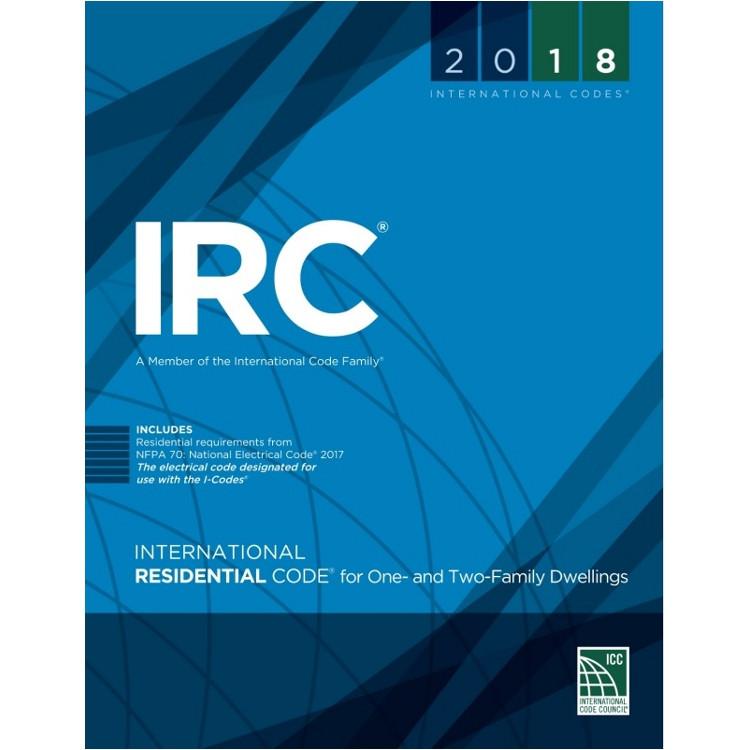 2018 International Residential Code (Looseleaf) - ISBN#9781609837365