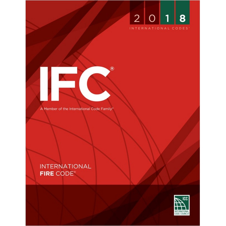 2018 International Fire Code - ISBN#9781609837396