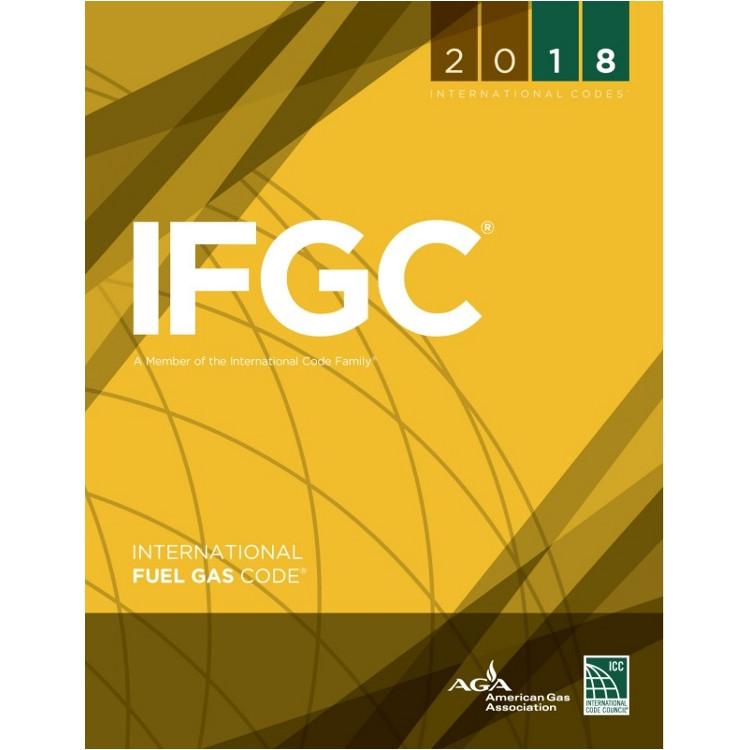 2018 International Fuel Gas Code (Looseleaf) - ISBN#9781609837402