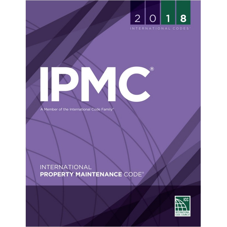 2018 International Property Maintenance Code - ISBN#9781609837488