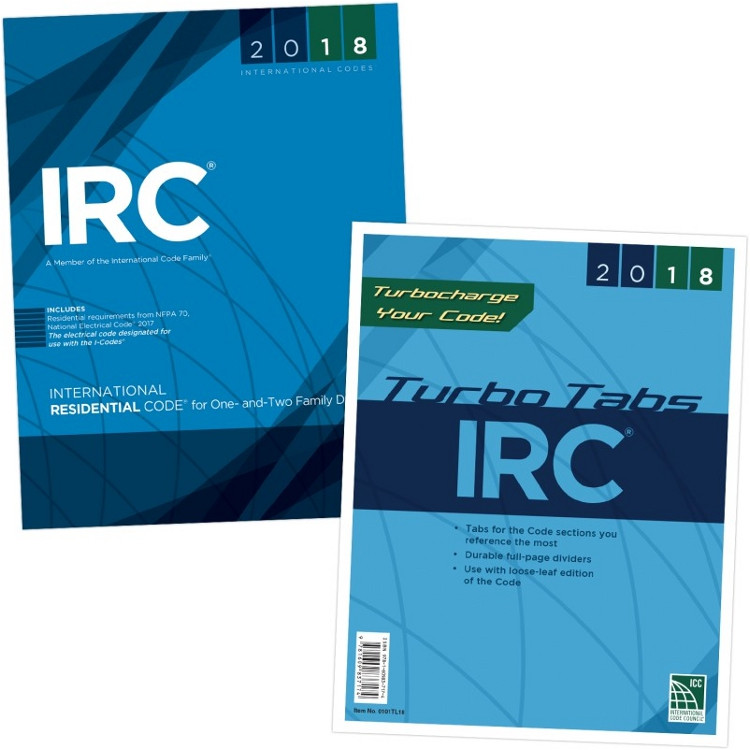 2018 International Residential Code & Tab Set (Looseleaf)