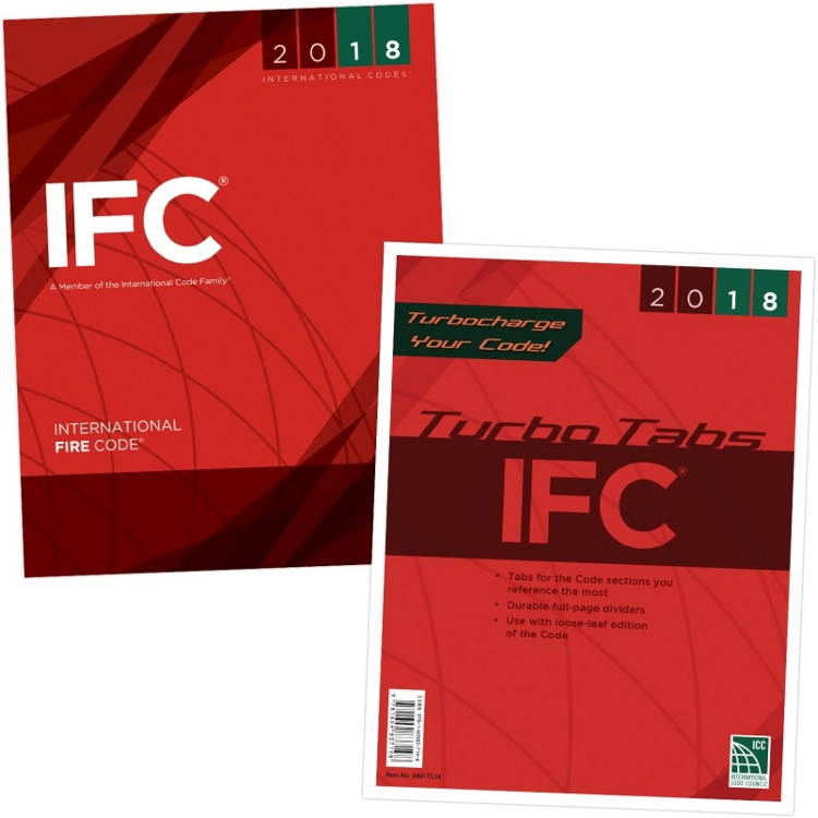 2018 International Fire Code & Tab Set