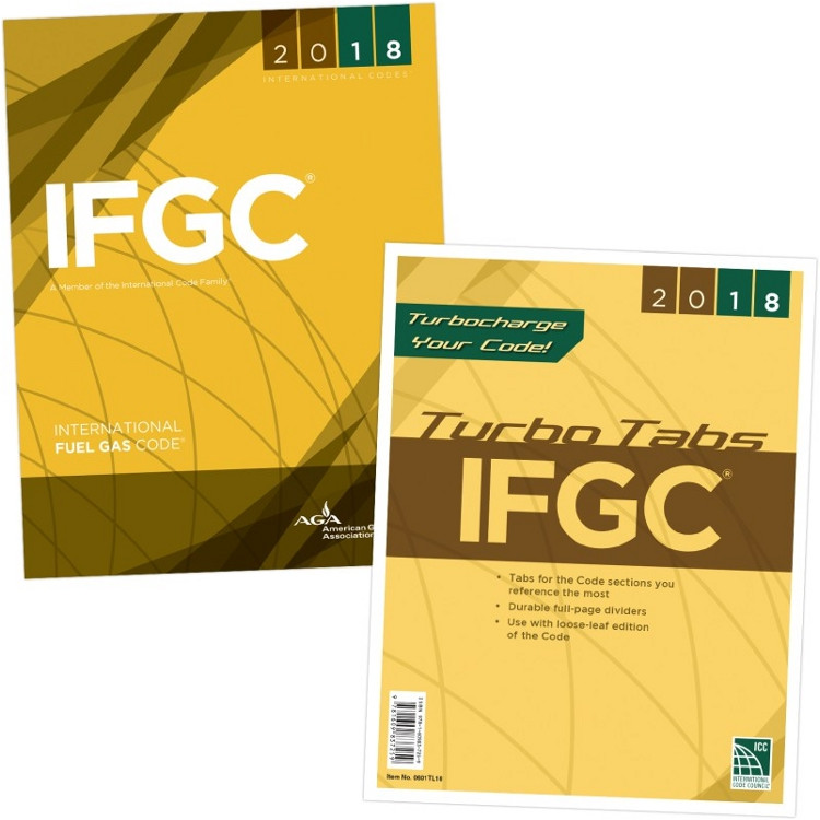 2018 International Fuel Gas Code & Tab Set (Looseleaf)