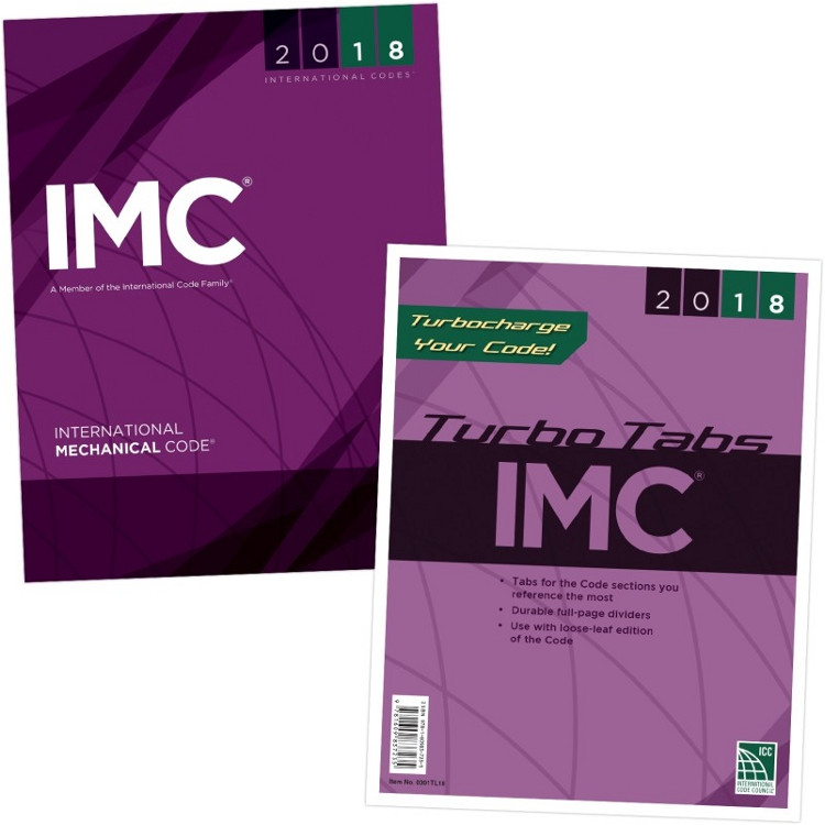 2018 International Mechanical Code & Tab Set