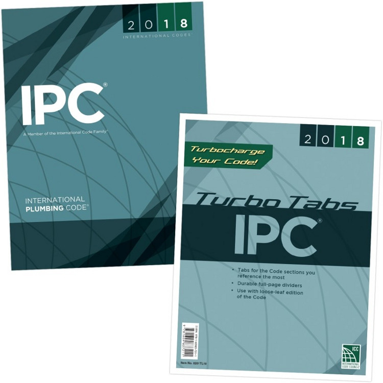 2018 International Plumbing Code & Tab Set