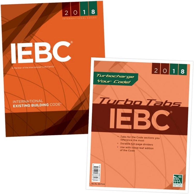 2018 International Existing Building Code & Tab Set