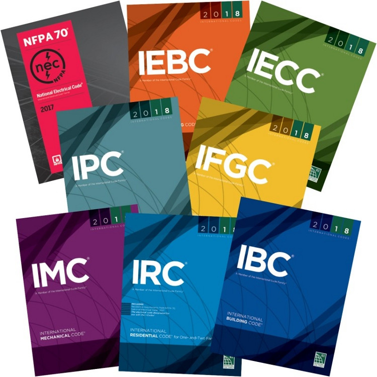 2018 International Codes Inspectors Collection