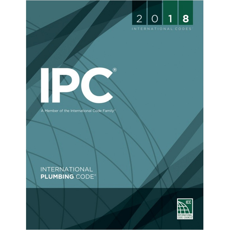 2018 International Plumbing Code - ISBN#9781609837457