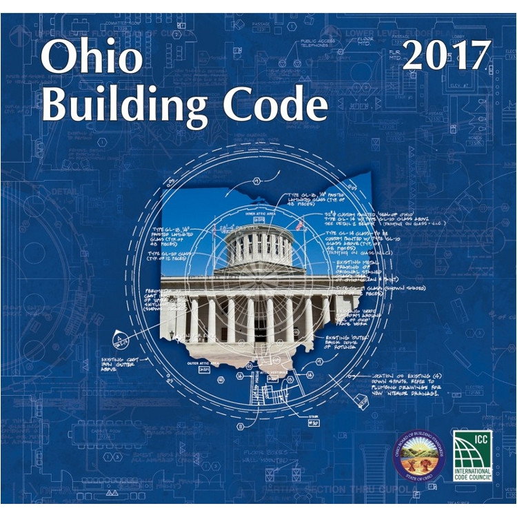 2017 Ohio Building Code - ISBN#9781609837617