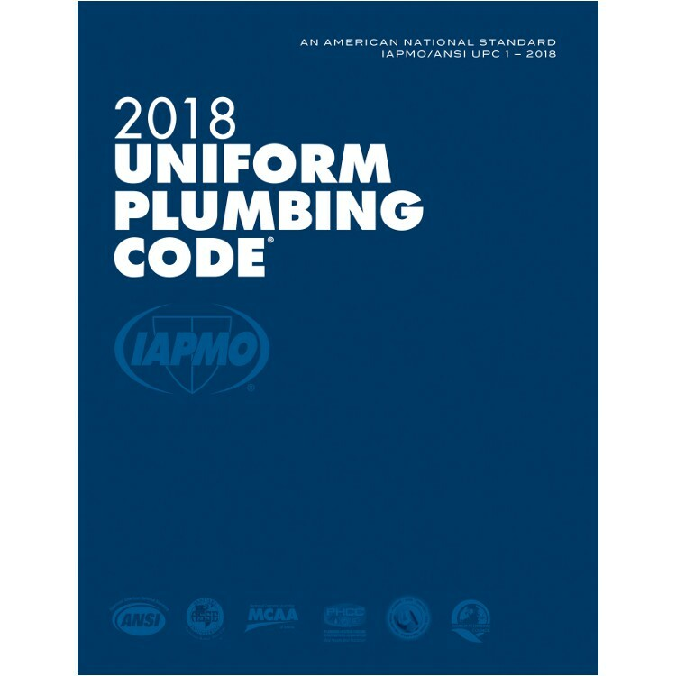 2018 Uniform Plumbing Code - ISBN#9781944366070