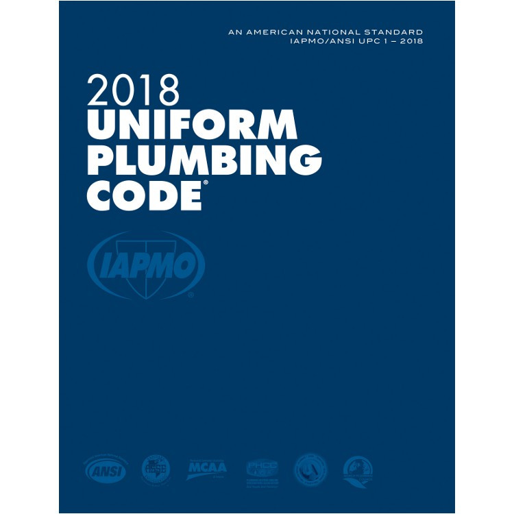 2018 Uniform Plumbing Code (Looseleaf) - ISBN#9781944366148