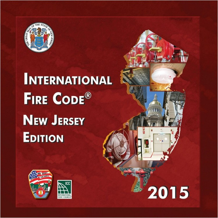 2015 International Fire Code New Jersey Edition - ISBN#9781609838423