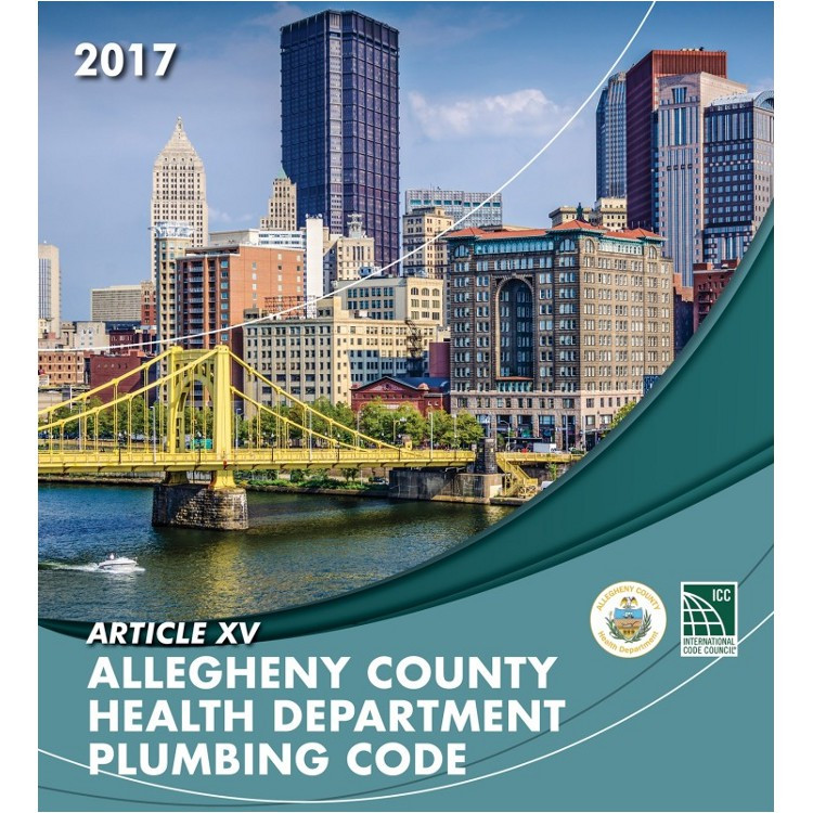 Article XV Allegheny County Health Department Plumbing Code - ISBN#9781609838201