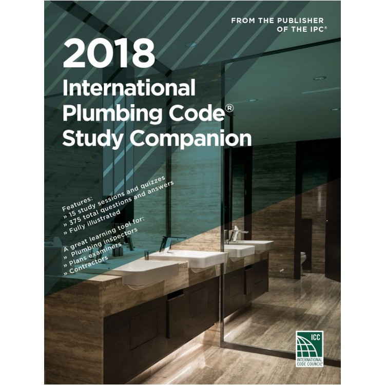 2018 International Plumbing Code Study Companion - ISBN#9781609837952