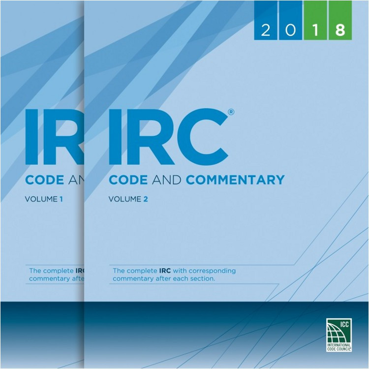 2018 IRC Code and Commentary
