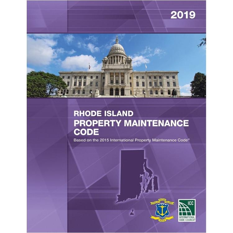 2019 Rhode Island Property Maintenance Code - ISBN#9781609836351