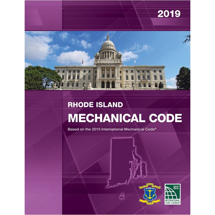 2019 Rhode Island Mechanical Code - ISBN#9781609836337