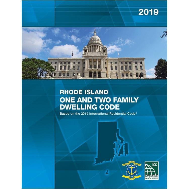 2019 Rhode Island Residential Code - ISBN#9781609836313