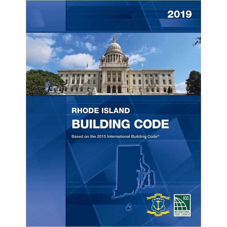 2019 Rhode Island Building Code - ISBN#9781609836306
