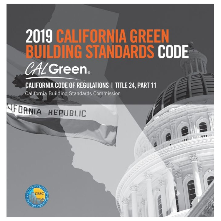 2019 California Green Building Standards Code (Title 24 Part 11)(CALGreen) - ISBN#9781609838959